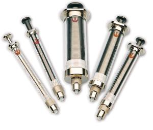 SGE Syringes, General Purpose Manual Syringe, PTFE Tipped Plunger, Trajan Scientific and Medical